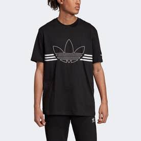 アウトラインTシャツ [Outline Tee] (ブラック)