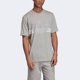 アウトラインTシャツ [Outline Tee] (グレー)