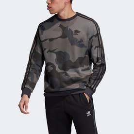 カモフラージュ クルーネック スウェットシャツ / Camouflage Crewneck Sweatshirt (グレー)