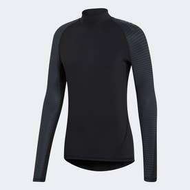 ALPHASKIN ATHLETE CLIMAWARM ロングスリーブシャツ (ブラック)