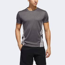 AEROREADY テック 3ストライプス 半袖Tシャツ / AEROREADY Tech 3-Stripes Tee (ブラック)