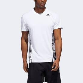 AEROREADY テック 3ストライプス 半袖Tシャツ / AEROREADY Tech 3-Stripes Tee (ホワイト)