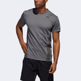 AEROREADY テック 3ストライプス 半袖Tシャツ / AEROREADY Tech 3-Stripes Tee (グレー)