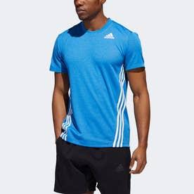 AEROREADY テック 3ストライプス 半袖Tシャツ / AEROREADY Tech 3-Stripes Tee (ブルー)