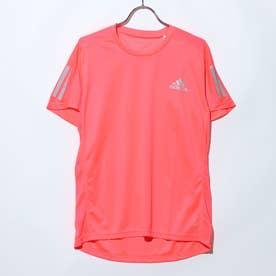 メンズ 陸上/ランニング 半袖Tシャツ OWN THE RUN TEE FT1430 (ピンク)