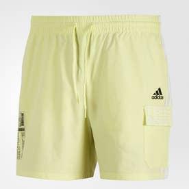 ID カーゴショーツ / ID Cargo Shorts (イエロー)