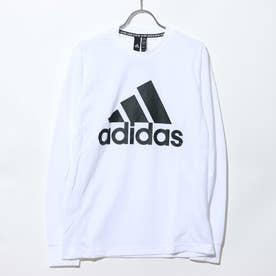 メンズ 長袖Tシャツ MMHBOSシングルジャージーLSTEE EK4546 (ホワイト)