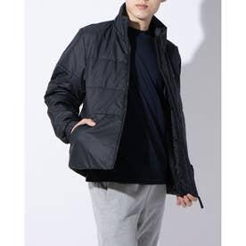 メンズ 中綿ジャケット BSCスリーストライプスINSジャケット DZ1396 (ブラック)