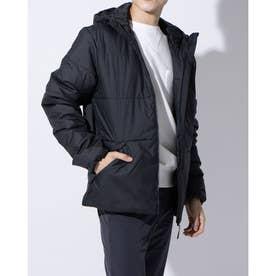 メンズ 中綿ジャケット BSCHOODINSジャケット GH7374 (ブラック)
