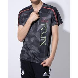 メンズ 陸上/ランニング 半袖Tシャツ OTR TEE CAMO M GD5712 (ブラック)