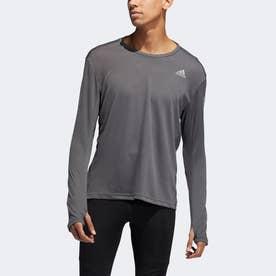 RESPONSEロングスリーブTシャツ (グレー)