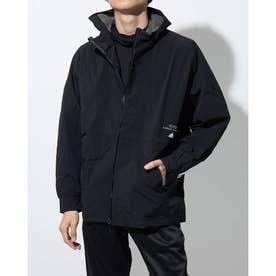 メンズ ウインドジャケット MMHSLONGジャケット GE0390 (ブラック)