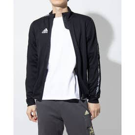メンズ サッカー/フットサル ジャージジャケット TIRO19トレーニングジャケット GH6852 (ブラック)