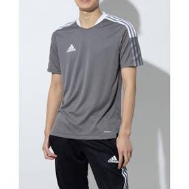 メンズ サッカー/フットサル 半袖シャツ TIRO21トレーニングジャージー GM7587 (グレー)