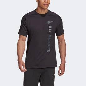オールブラックス サポーター 半袖Tシャツ / All Blacks Supporters Tee (ブラック)