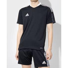 メンズ サッカー/フットサル 半袖シャツ TIRO21トレーニングジャージー GM7586 (ブラック)