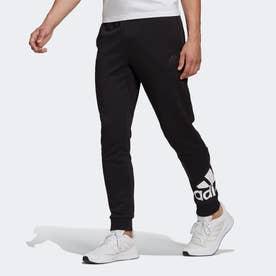 エッセンシャルズ フレンチテリー テーパード カフ ロゴパンツ / Essentials French Terry Tapered Cuff Logo Pants (ブラック