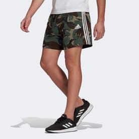エッセンシャルズ フレンチテリー カモフラージュ ショーツ / Essentials French Terry Camouflage Short (グリーン)