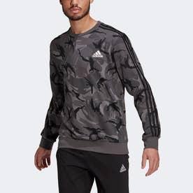 エッセンシャルズ カモフラージュ クルースウェット / Essentials Camouflage Crew Sweatshirt (グレー)