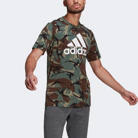 エッセンシャルズ カモフラージュ Tシャツ / Essentials Camouflage Tee (グリーン)