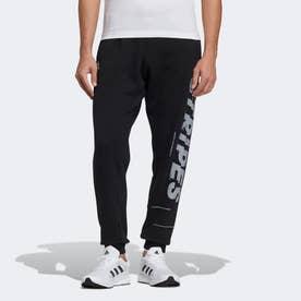 ワード スウェットパンツ / Word Sweat Pants (ブラック)