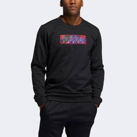 MIC グラフィック クルースウェットシャツ/ MIC Graphic Crew Sweatshirt (ブラック)