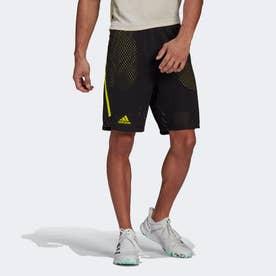 テニス 2--in-1 ネクストレベル PRIMEBLUE ショーツ / Tennis 2-in-1 Next Level Primeblue Shorts (ブラック)