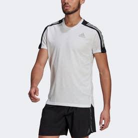 オウン ザ ラン 3ストライプス 半袖ランニングTシャツ / Own The Run 3-Stripes Running Tee (ホワイト)