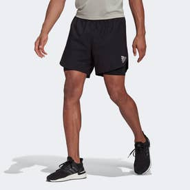 Fast 2-in-1 PRIMEBLUE ショーツ / Fast 2-in-1 Primeblue Shorts (ブラック)