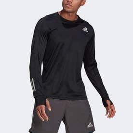 オウンザ ラン 長袖Tシャツ / Own the Run Long Sleeve Tee (ブラック)