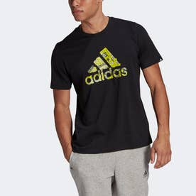 ブランドテープ ロゴ グラフィック 半袖Tシャツ / Branded Tape Logo Graphic Tee (ブラック)