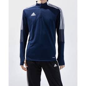 メンズ サッカー/フットサル パーカー TIRO21トレーニングトップ GE5426 (ネイビー)