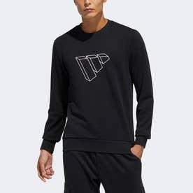 バッジ オブ スポーツ スウェットシャツ / Badge of Sport Sweatshirt (ブラック)