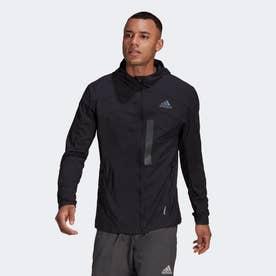 マラソン トランスルーセント ジャケット / Marathon Translucent Jacket (ブラック)