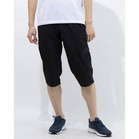 メンズ ジャージパンツ M COOL 3/4 パンツ ウーブン DY7876 (ブラック)