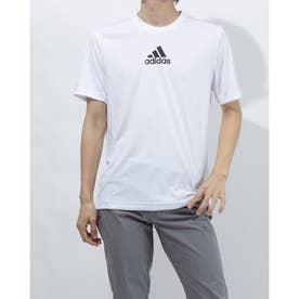 メンズ 半袖機能Tシャツ MD2M3ストライプスTシャツ GM2135 (ホワイト)