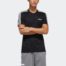 デザインド トゥ ムーブ 3ストライプス 半袖Tシャツ / Design 2 Move 3-Stripes Tee (ブラック)