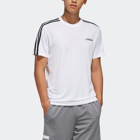 デザインド トゥ ムーブ 3ストライプス 半袖Tシャツ / Design 2 Move 3-Stripes Tee (ホワイト)