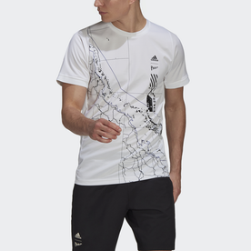 テニス Parley フリーリフト 半袖Tシャツ / Tennis Parley Freelift Tee (ホワイト)