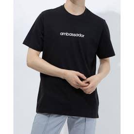 メンズ ゴルフ 半袖シャツ ADICROSS グラフィック 半袖Tシャツ GM1209 (ブラック)