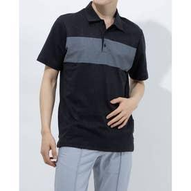 メンズ ゴルフ 半袖シャツ ADICROSS デザートプリント 半袖シャツ GM5508 (グレー)