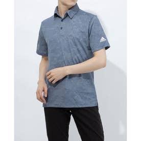メンズ ゴルフ 半袖シャツ PRIMEGREEN カモジャカード 半袖シャツ GM0258 (ネイビー)