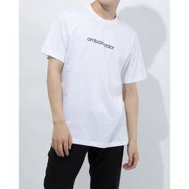 メンズ ゴルフ 半袖シャツ ADICROSS グラフィック 半袖Tシャツ GL2412 (ホワイト)