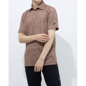 メンズ ゴルフ 半袖シャツ PRIMEGREEN カモジャカード 半袖シャツ GL0136 (オレンジ)