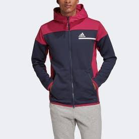 Z.N.E. AEROREADY フルジップ スウェットシャツ / Z.N.E. AEROREADY Full-Zip Sweatshirt (ブ