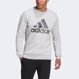 バッジ オブ スポーツ フリース スウェットシャツ / Badge of Sport Fleece Sweatshirt (グレー)