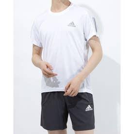 メンズ 陸上/ランニング 半袖Tシャツ OWN THE RUN TEE M GJ9963 (ホワイト)