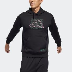 東京 ブランド キャリア プルオーバーパーカー / Tokyo Brand Career Pullover Hoodie (ブラック)