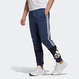 エッセンシャルズ ロゴ カラーブロック カフパンツ / Essentials Logo Colorblock Cuff Pants (ブルー)