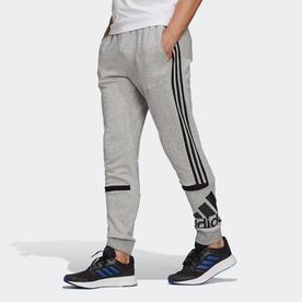 エッセンシャルズ ロゴ カラーブロック カフパンツ / Essentials Logo Colorblock Cuff Pants (グレー)
